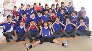 クラスTシャツのデザインに満足(慶進高等学校文化祭)の画像