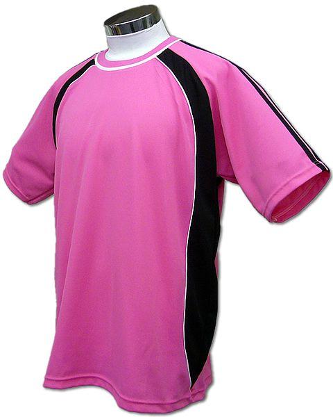 学割クラスTシャツサッカーユニフォーム B01タイプ ピンクの画像