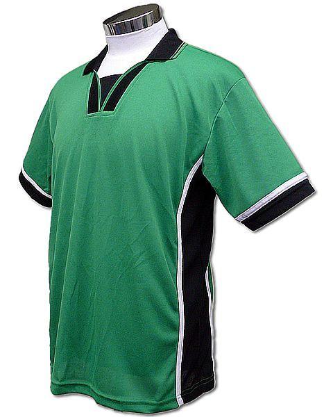 学割クラスTシャツサッカーユニフォーム B02タイプ 緑の画像
