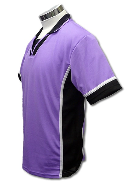 学割クラスTシャツサッカーユニフォーム B02タイプ 薄紫の画像