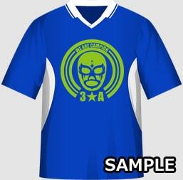 男子クラスに最適な運動会・体育祭クラスTシャツデザインイメージ・表
