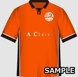マジメなクラスにおすすめな球技大会クラスTシャツデザインイメージ・表