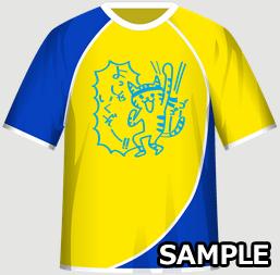 学園祭バンドにおすすめの文化祭・学園祭クラスTシャツデザインイメージ・表