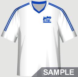 テニス部におすすめの部活Tシャツデザインイメージ・表